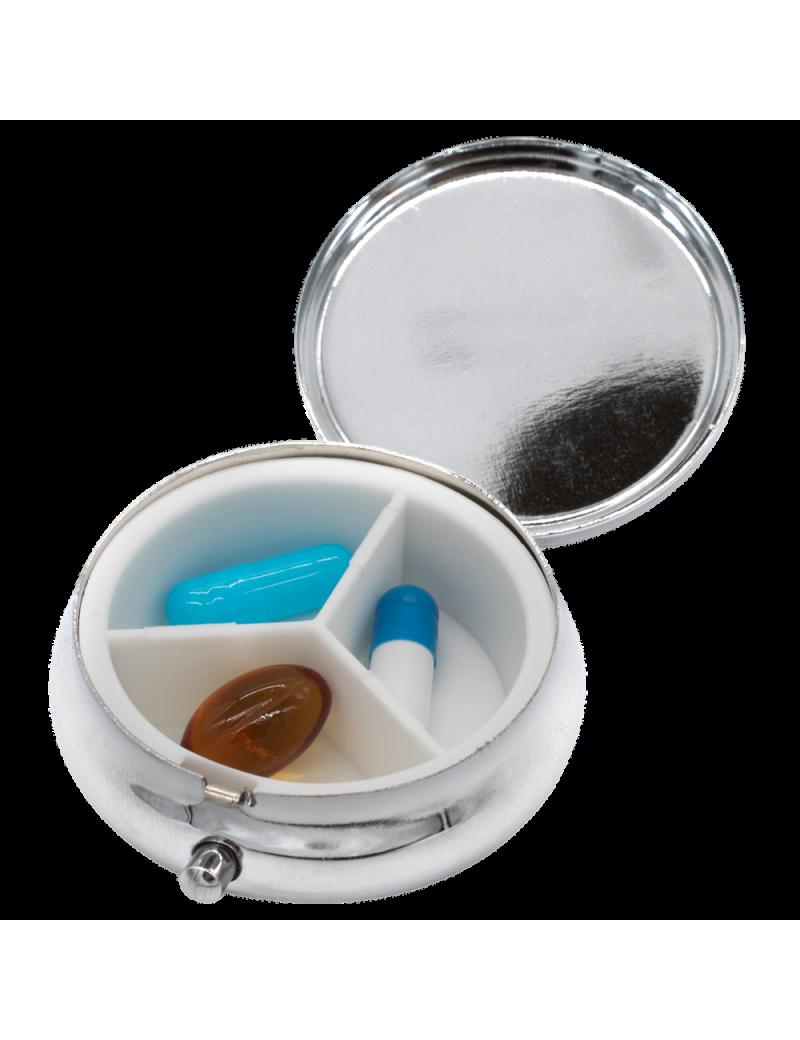 mpocket3 - caja metálica de pequeño tamaño para guardar sus pastillas para el día