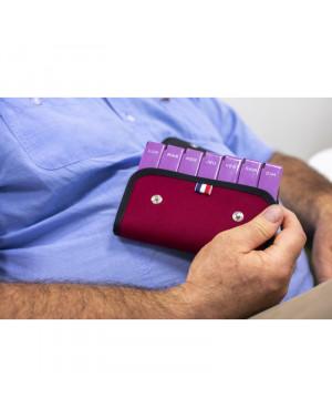 medi28 - Pochette composée de 7 modules journaliers amovibles et sécurisés